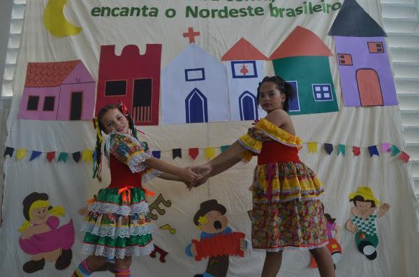 Festas juninas nas escolas de Natal