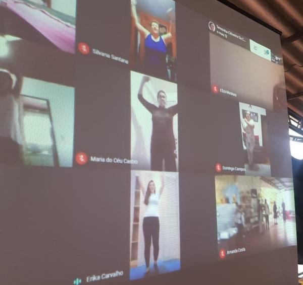 Instituto Sempre Movimento leva atividade física 'virtual' a idosos na periferia