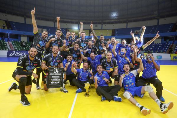 SUPERCOPA MASCULINA: EMS Taubaté Funvic comemora segundo título na temporada