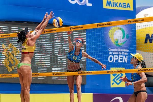 CIRCUITO BRASILEIRO: Medalhistas na última etapa, Ágatha e Juliana preveem mais equilíbrio à frente