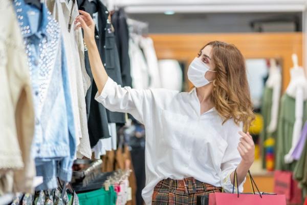 Comércio aberto com ventilação adequada garante seguridade sanitária