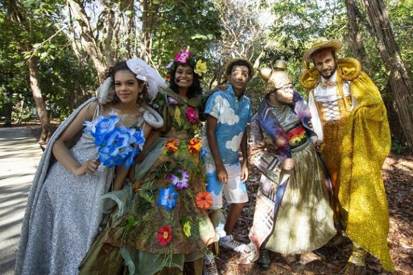 Programação cultural virtual dos projetos Bosque Encena e Som da Mata