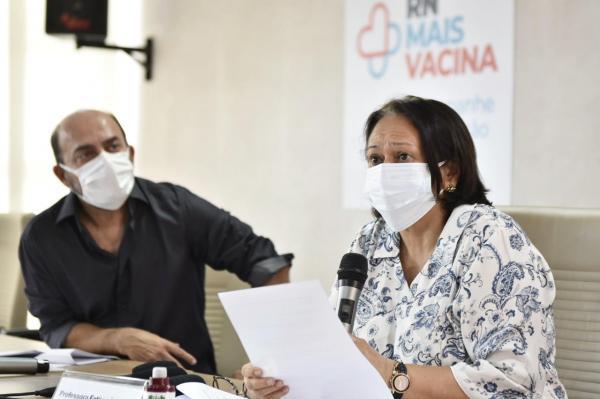 Fátima Bezerra convoca população para ajudar a fiscalizar cumprimento do novo decreto