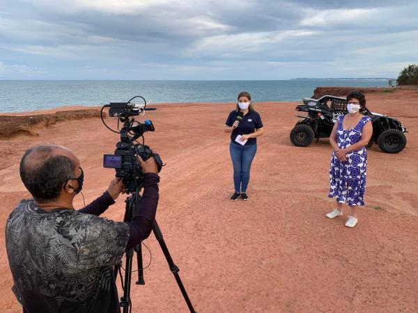 A largada do Rally dos Sertões 2021 será da praia da Pipa/RN