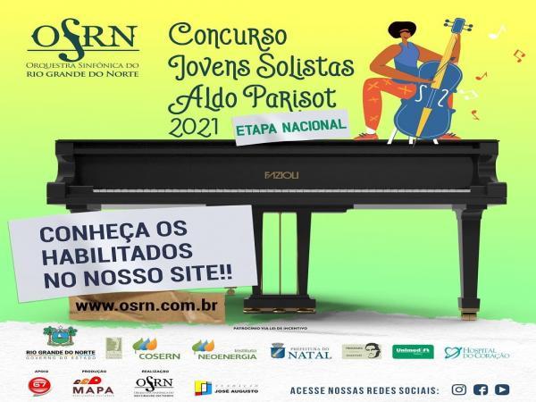 Etapa Nacional do Concurso Jovens Solistas Aldo Parisot divulga lista com selecionados para fase final