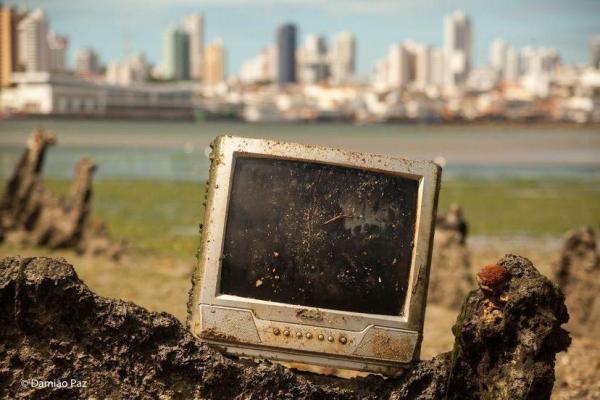 Campanha RN+Limpo coleta meia tonelada de lixo eletrônico em dois meses