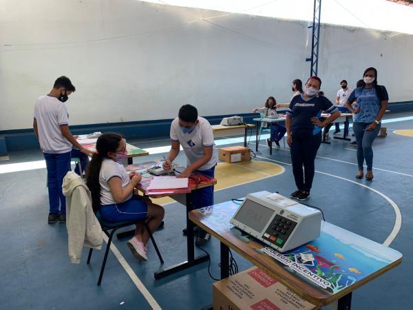 TRE-RN realiza mais uma ação do projeto Eleitor do Futuro em 2021