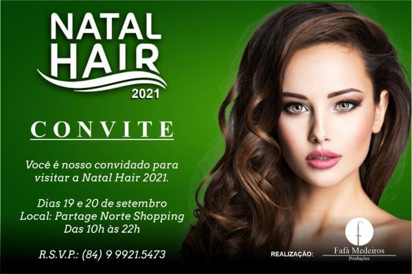 Natal Hair acontece dias 19 e 20 de setembro no Partage Norte Shopping