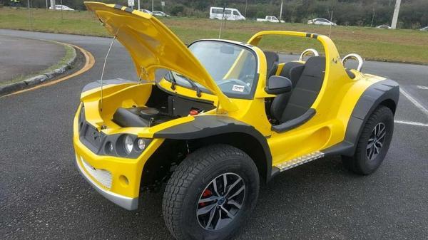 RN vai desenvolver 1º buggy elétrico, de olho em 'mercado do futuro' no litoral brasileiro