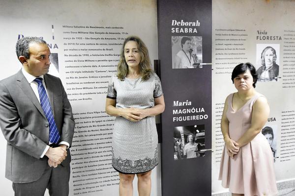 Déborah Seabra e Magnólia Figueiredo são homenageadas na Assembleia Legislativa
