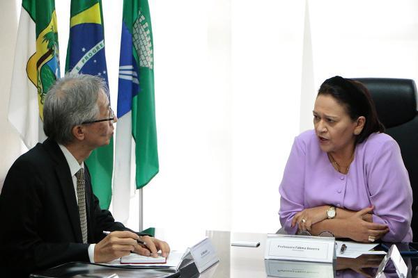 Governadora discute parcerias com Cônsul Geral do Japão