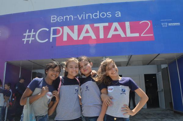 Estudantes da Rede Municipal de Ensino visitam a Campus Party
