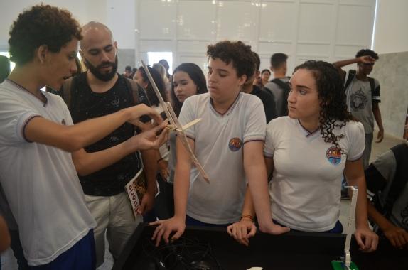 Projeto de aeromodelismo da Escola Quarto Centenário foi exibido na Campus Party