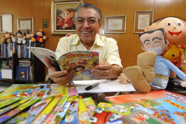 Após receber prêmio, Maurício de Sousa anuncia parque temático da Turma da Mônica em Gramadoica em Gramado