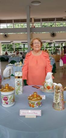 Iolanda Bezerra comemora 25 anos de Artes Plásticas