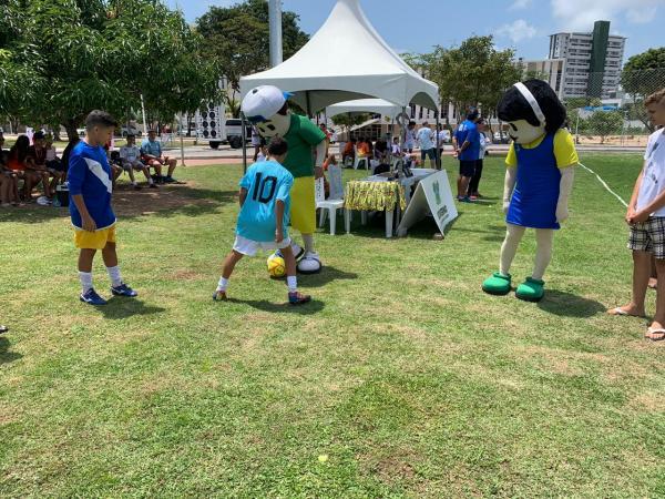 Dia do Esporte Cidadão movimenta o Centro Administrativo do Estado