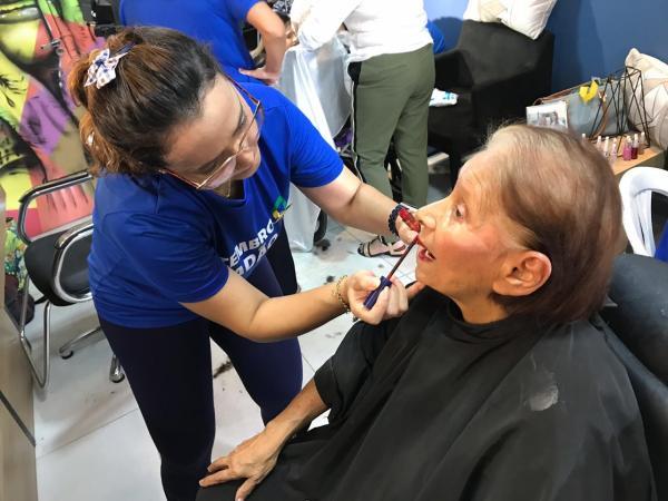 Tarde de beleza, confraternização e doação aos idosos marca programação do Setembro Cidadão