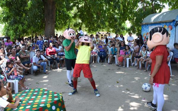Festa do Dia das Crianças é celebrada em Felipe Guerra com diversão