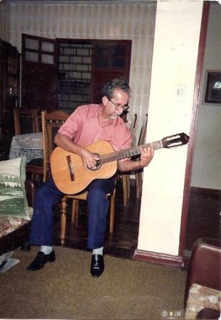 GENARDO LUCAS, o pioneiro do violão erudito em Natal.