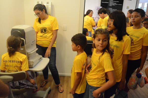 Ação beneficia alunos da Rede Municipal com exames e óculos