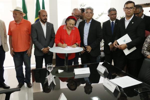 Governo inicia recuperação da barragem de Passagem das Traíras