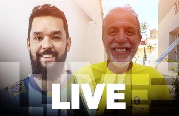 CBV promove encontro virtual entre ídolos William Carvalho e William Arjona
