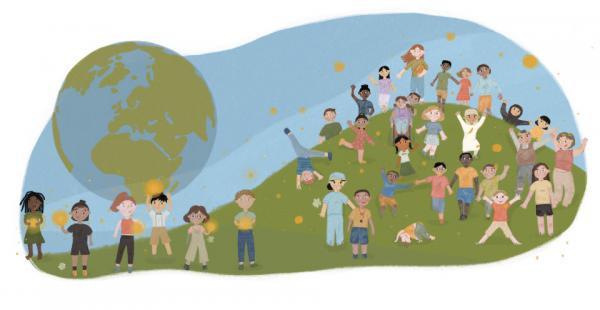 Livro infantil para download gratuito, escrito por educadores de todo o mundo, visa dar esperança às crianças e suas famílias durante a COVID-19