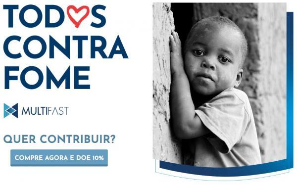 Todos Contra Fome - Site reverte 10% das vendas em cestas básicas para comunidades carentes
