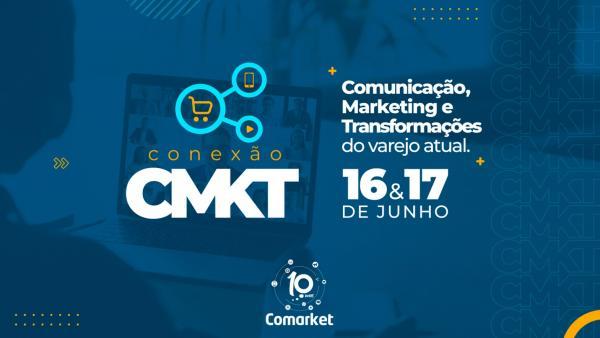 Conexão CMKT: contagem regressiva para o seminário digital gratuito que vai discutir comunicação, marketing e mercado