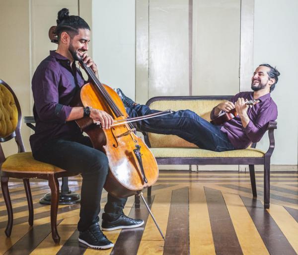 Duo Rock Cello & Piano faz live no Dia dos Namorados
